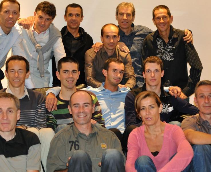 le club cycliste du balma vélo sprint lors de sa création en 2011