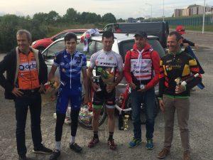 podium FSGT du grand prix du muguet organisé par le balma vélo sprint