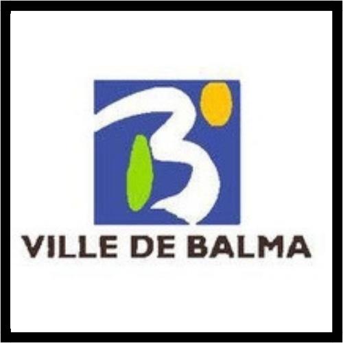 Logo de la ville de Balma qui est un partenaire du club