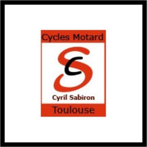 Logo des cycles motard qui est un partenaire du club